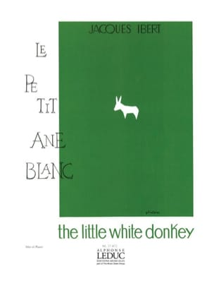 Jacques Ibert - The Little White Ane - Sheet Music - di-arezzo.com