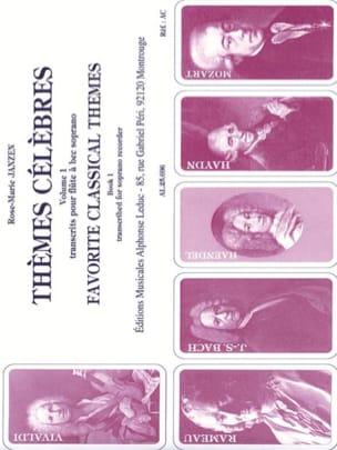 Rose-Marie Janzen - Famous Themes - Volume 1 - Sheet Music - di-arezzo.co.uk