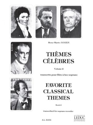 Rose-Marie Janzen - Famous Themes Volume 2 - Sheet Music - di-arezzo.com