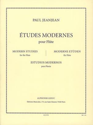 Paul Jeanjean - Moderne Studien - Flöte - Noten - di-arezzo.de