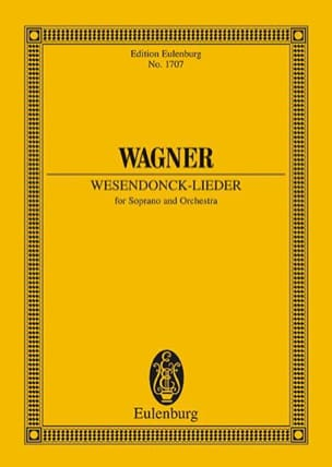 Richard Wagner - Wesendonck-Lieder Wwv 91 - Pocket - Sheet Music - di-arezzo.co.uk