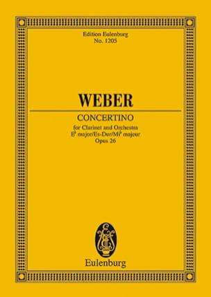 Concertino für Klarinette Es-Dur op. 26 – Partitur - laflutedepan.com