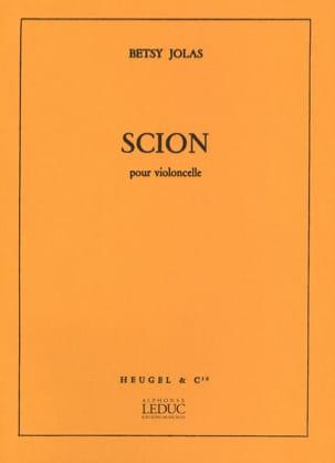 Betsy Jolas - Scion - Partition - di-arezzo.fr