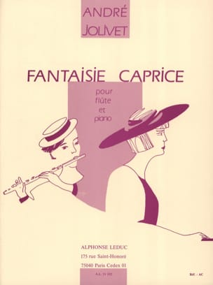 André Jolivet - Fantasy whim - Sheet Music - di-arezzo.co.uk