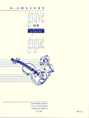 André Jolivet - Serious and Jitter - Sheet Music - di-arezzo.com