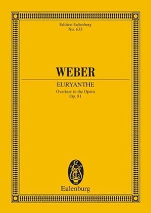 Euryanthe, Ouvertüre - Partitur Carl Maria von Weber laflutedepan
