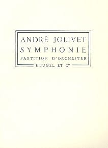 André Jolivet - Symphony No. 1 - Partition - di-arezzo.com