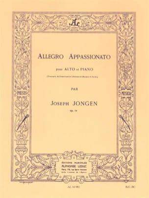 Allegro Appassionato op. 79 Joseph Jongen Partition laflutedepan