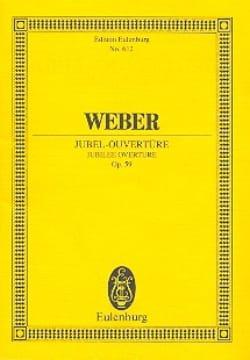 Carl Maria von Weber - Jubel-Ouvertüre - Partition - di-arezzo.fr