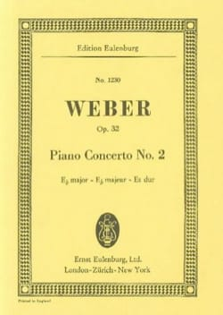 Klavier-Konzert Nr. 2 Es-Dur - Carl Maria von Weber - laflutedepan.com
