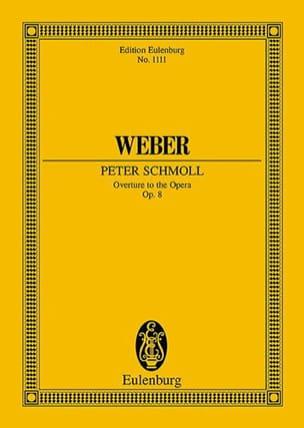 Carl Maria von Weber - Peter Schmoll, Ouverture - Partition - di-arezzo.fr