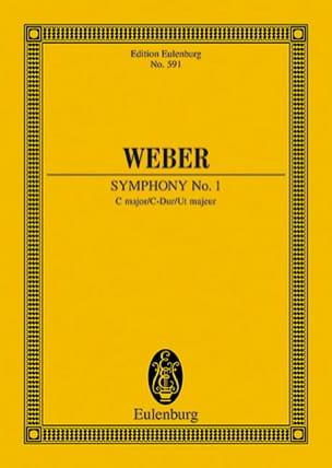 Sinfonie Nr. 1 C-Dur - Carl Maria von Weber - laflutedepan.com