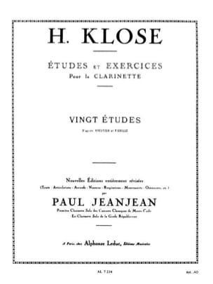 Hyacinthe Klosé - 20 Studies after Kreutzer and Fiorillo - Sheet Music - di-arezzo.co.uk