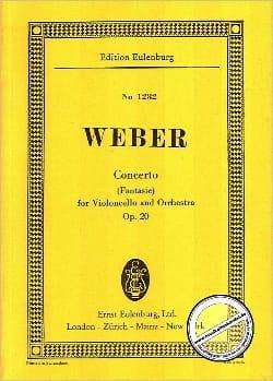 Violoncello-Konzert, Opus 20 - Carl Maria von Weber - laflutedepan.com