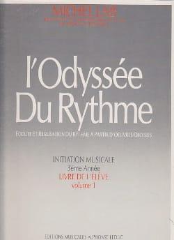 L' Odyssée du Rythme - Volume 1 - Elève Michel Lab laflutedepan