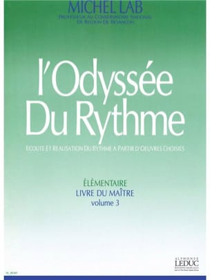 Michel Lab - The Odyssey of Rhythm Volume 3 - Master - Sheet Music - di-arezzo.co.uk