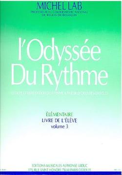 L' Odyssée Du Rythme - Volume 3 - Elève - laflutedepan.com