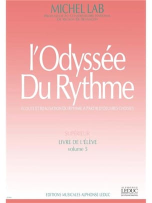 Michel Lab - The Rhythm Odyssey - Volume 5 - Student - Sheet Music - di-arezzo.com