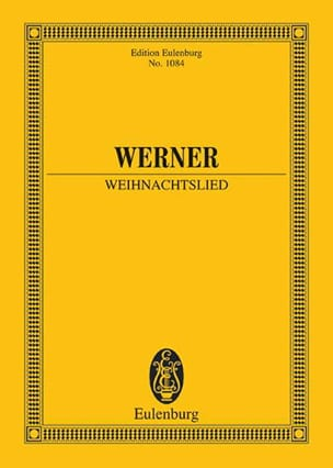 Gregorius J. Werner - Weihnachtslied - Sheet Music - di-arezzo.co.uk