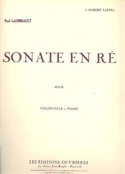 Sonate en Ré - Paul Ladmirault - Partition - laflutedepan.com