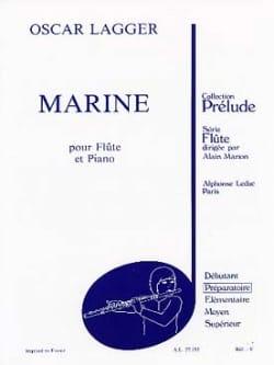 Marine - Oscar Lagger - Partition - laflutedepan.com