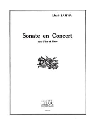 Sonate en concert op. 64 - Flûte piano Laszlo Lajtha laflutedepan