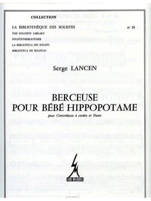 Serge Lancen - Lullaby for baby hippo - Sheet Music - di-arezzo.com