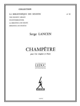 Serge Lancen - rural - Sheet Music - di-arezzo.co.uk