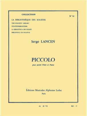 Serge Lancen - Piccolo - Sheet Music - di-arezzo.co.uk