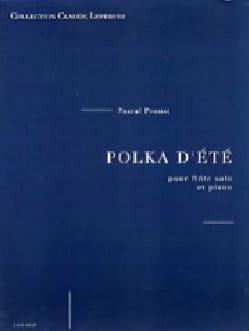 Pascal Proust - Polka d'été - Partition - di-arezzo.fr