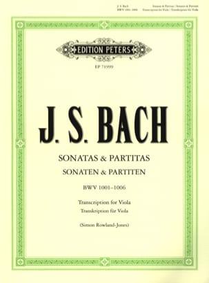 BACH - Sonatas and Partitas - Sheet Music - di-arezzo.com