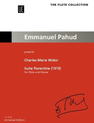 Charles-Marie Widor - Florentine Suite 1919 - Partition - di-arezzo.co.uk