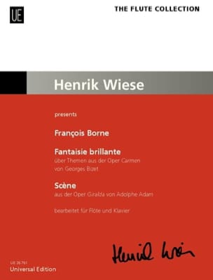 François Borne - Brilliant Fantasy on Carmen / Scene - Sheet Music - di-arezzo.co.uk