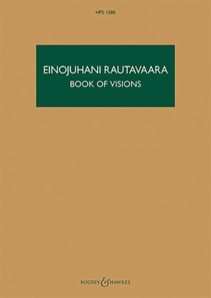Book of Visions Einojuhani Rautavaara Partition laflutedepan