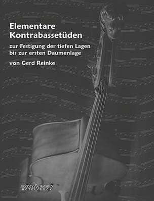 Gerd Reinke - Elementare Kontrabassetüden - Sheet Music - di-arezzo.co.uk