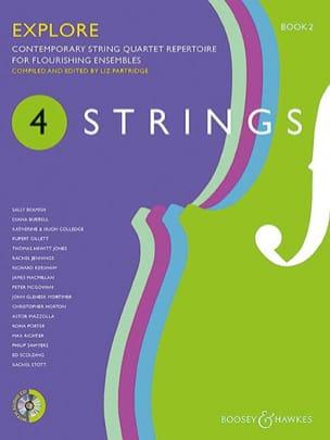 4 Strings - Explore - Book 2 - Liz Partridge - laflutedepan.com