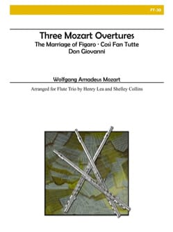 MOZART - 3 Mozart Overtures - Partition - di-arezzo.fr