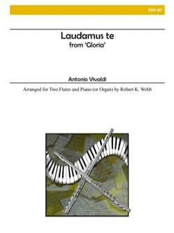 Antonio Vivaldi - Laudamus te - Partition - di-arezzo.fr
