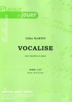 Gilles Martin - Vocalise - Sheet Music - di-arezzo.com