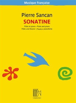 Pierre Sancan - Sonatine for flute and piano - Sheet Music - di-arezzo.com