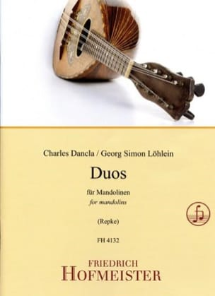 Charles DANCLA et Georg Simon LÖHLEIN - Duos for Mandolins - Sheet Music - di-arezzo.co.uk