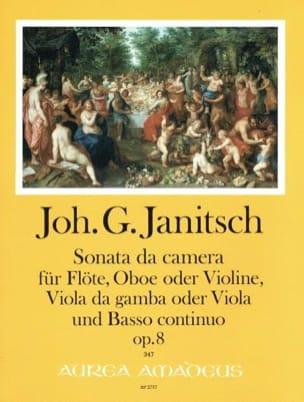Sonata da camera, op. 8 - Johann Gottlieb Janitsch - laflutedepan.com