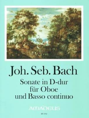 BACH - Sonate en Ré Majeur - Hautbois et BC - Partition - di-arezzo.fr