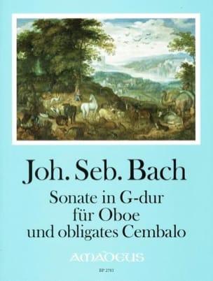 BACH - Sonate en Sol Majeur - Hautbois et Clavecin - Partition - di-arezzo.fr