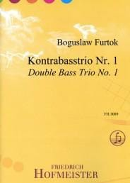 Boguslaw Furtok - Trio # 1 - 3 Double Bass - Sheet Music - di-arezzo.co.uk
