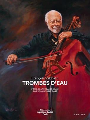 François Rabbath - Trombes d'Eau - Contrebasse - Partition - di-arezzo.fr