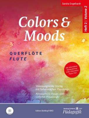 Colors & Moods Flute - Vol. 2 Sandra Engelhardt Partition laflutedepan