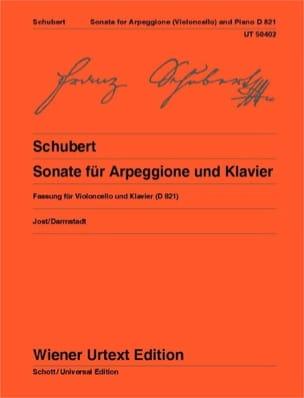 Sonate pour Arpeggione - Violoncelle et Piano - laflutedepan.com