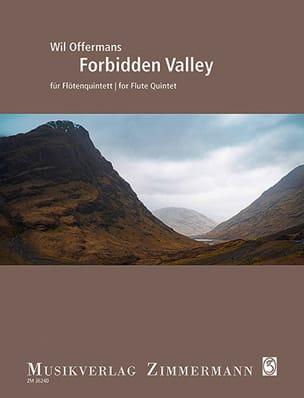 Forbidden Valley - 5 Flûtes Wil Offermans Partition laflutedepan