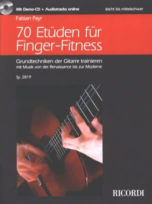 Fabian Payr - 70 Etudes - Guitarra - Partitura - di-arezzo.es